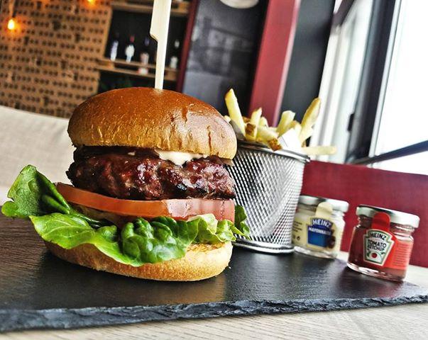 British Beef Burger